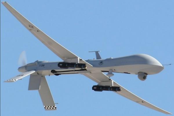 Ammaraggio top secret di un drone militare decollato da Trapani-Birgi