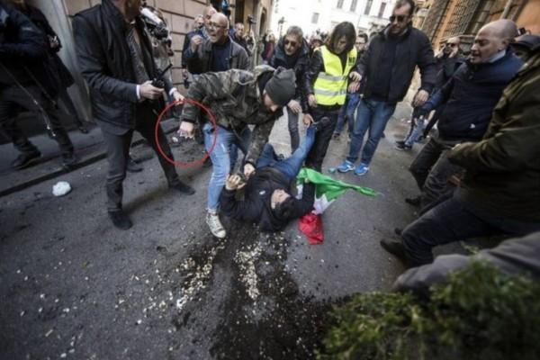 Chi erano a provocare gli scontri a Roma davanti alla sede del PD?
