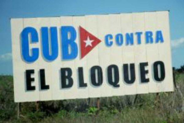 Alt alle politiche contro Cuba