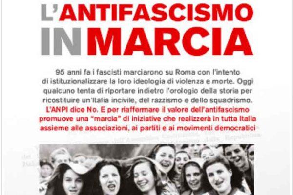 28 ottobre 2017: L'antifascismo in marcia