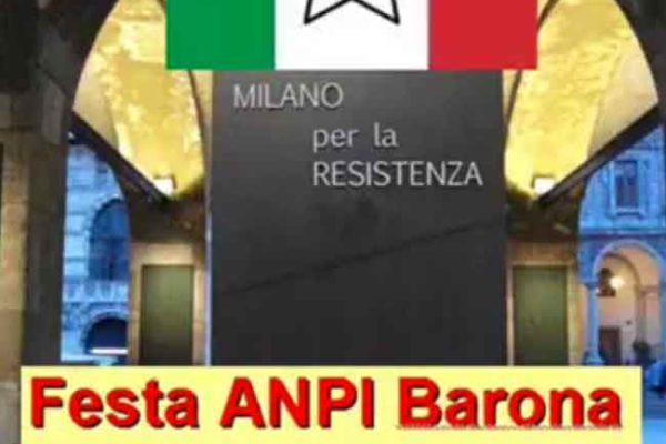 CARLO SMURAGLIA ALLA FESTA DELL'ANPI BARONA (ZONA 6 MILANO)