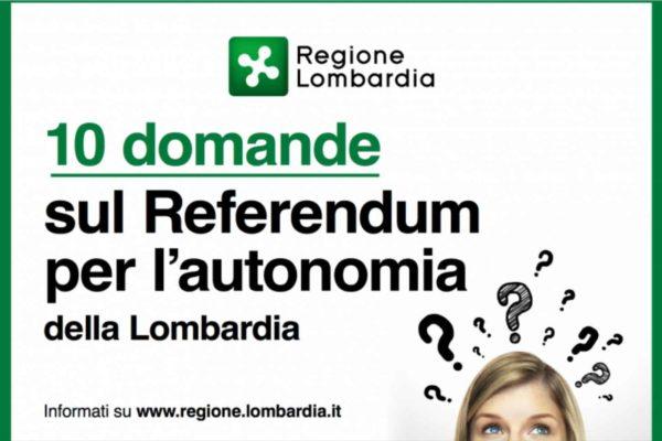 Referendum per l'autonomia: le fake news di Regione Lombardia