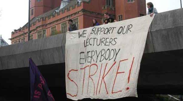 L'università inglese è in sciopero