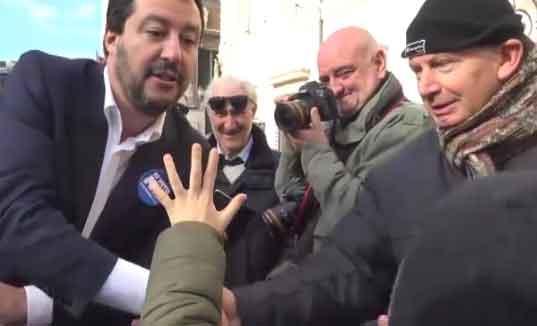 Pace e Legalità - Esposto in procura a carico Matteo Salvini