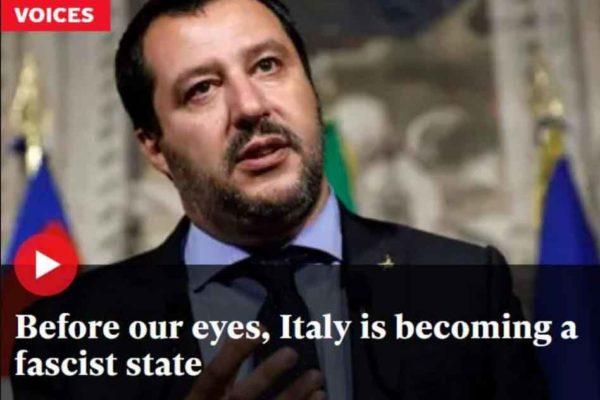 """""""L'Italia sta diventando uno stato fascista sotto ai nostri occhi"""": la dura analisi dell'Independent"""