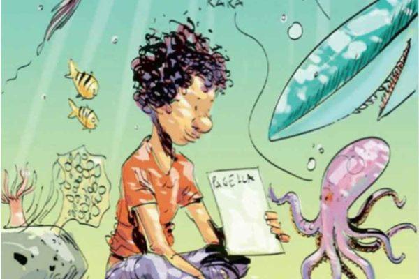 La struggente vignetta di Makkox per il bambino morto nel Mediterraneo con la pagella cucita nella giacca