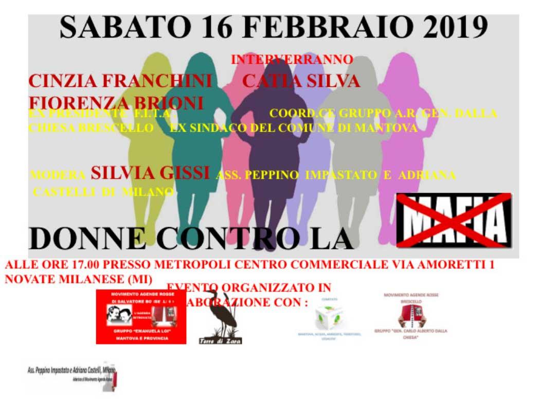 Novate Milanese Via Amoretti 1.Donne Contro La Mafia A Novate Milanese Iskraeiskrae