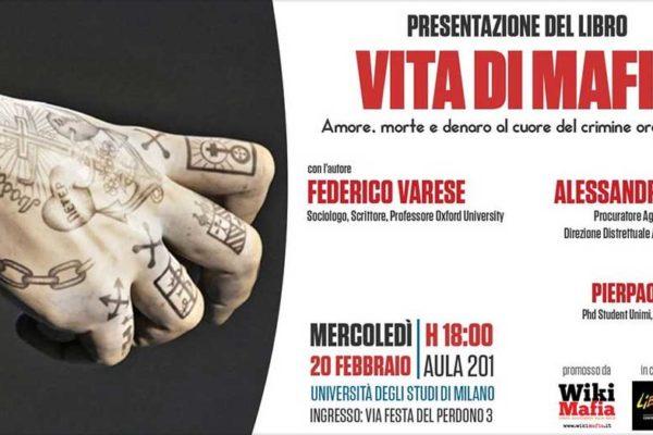 20 febbraio 2019 - Vita di MAFIA, presentazione a Milano