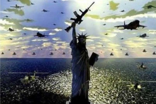 Gli Stati Uniti hanno passato 222 anni su 243 di esistenza in guerra