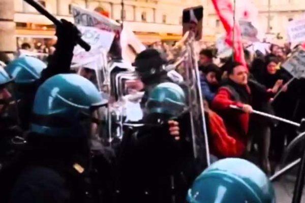 Il Silp Cgil a TGCOM24 parla degli scontri di piazza e degli agenti feriti