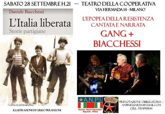 L'Italia liberata. Concerto GANG e Biacchessi