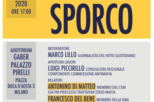 Presentazione del libro ''Il Patto Sporco'' - Milano, 16 Gennaio