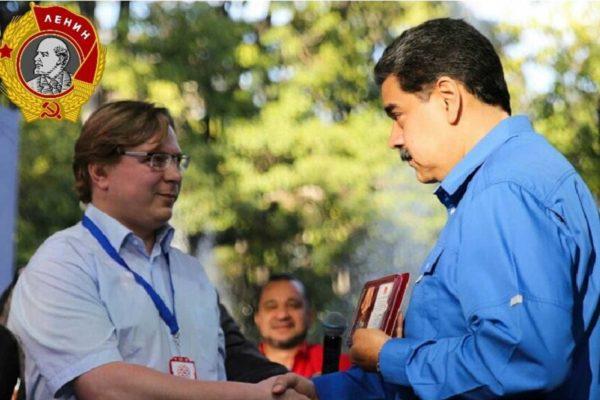 Il Presidente Maduro riceve l'onoreficenza dell'Ordine di Lenin dal PC russo per la sua lotta contro l'imperialismo