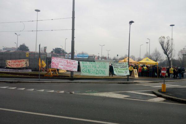 Legambiente scende in piazza nel quartiere Comasina...