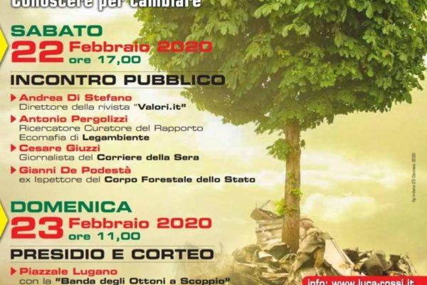 Milano, 22-23 febbraio incontro pubblico: La terra dei fuochi è sotto casa