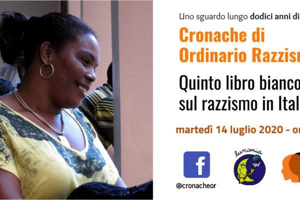 Cronache di ordinario razzismo. Quinto libro bianco sul razzismo in Italia