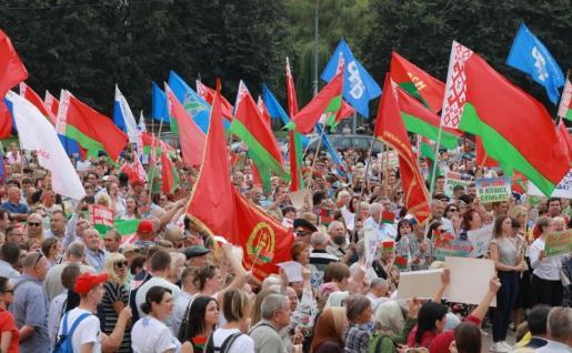 LA BIELORUSSIA CHE NON VI FANNO VEDERE. La Bielorussia che RESISTE!