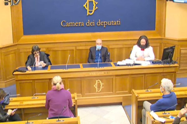 Con Assange messa a processo la libertà di tutti - Conferenza stampa di Sara Cunial