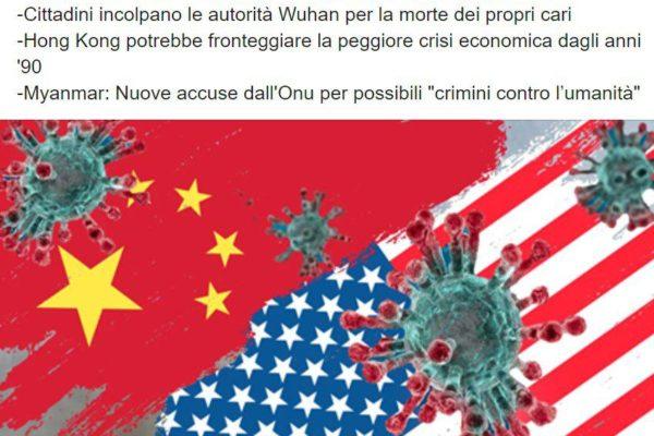 Cina e Stati Uniti. I profondi differenti sistemi, usati nell'affrontare la questione Covid 19: cooperazione e condivisione, contro competizione e profitto