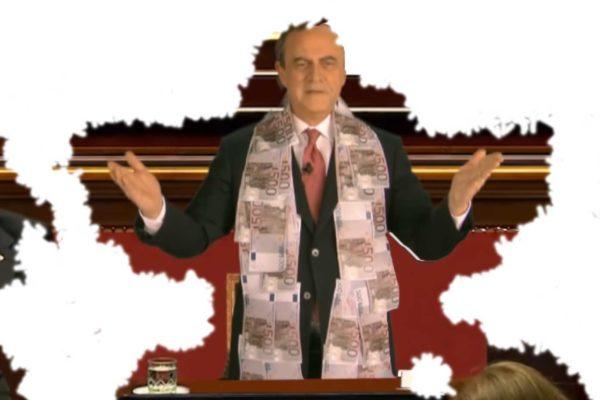 Il vero discorso di Mario Draghi in Parlamento visto da Crozza...