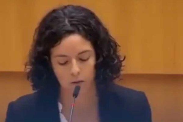 Intervento integrale della parlamentare europea Manon Aubry...