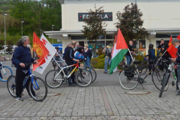 Biciclettata popolare del 1° maggio in Toscana