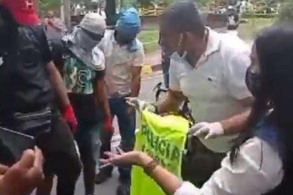 Colombia: manifestanti repressi dal governo di destra filostatunitense di Duque