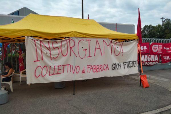 Uniti nella lotta con le lavoratrici e i lavoratori della Gkn