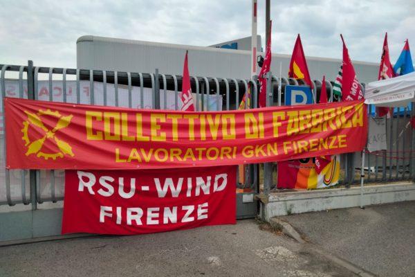 Assieme ai lavoratori della Gkn a Firenze il 18 settembre