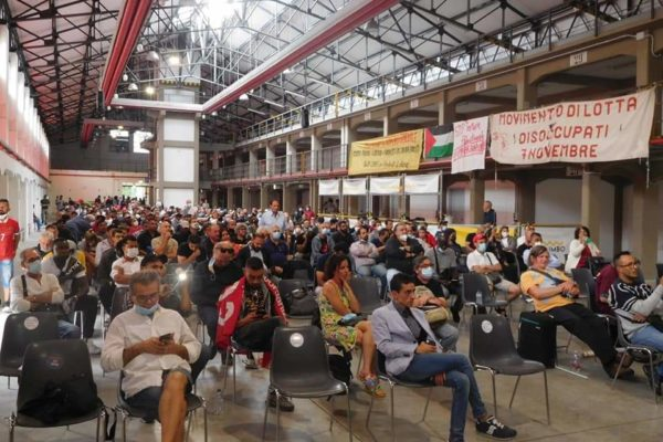 Mozione approvata dall'assemblea di Bologna